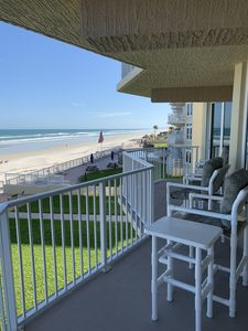 Photo for Oceanfront - Car Free Beach - Crib - Pool - Last Minute Specials!!!