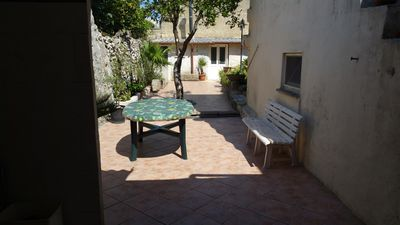 Photo for Depandance rental 8 beds with large courtyard