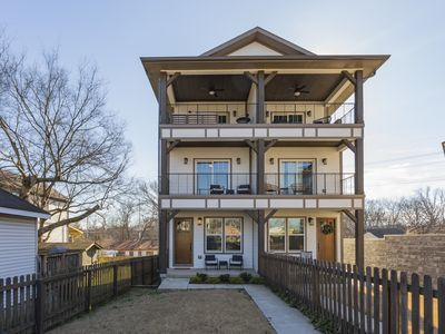 Photo for Brand New 4 Bed/4 Bath Home Close to Downtown with Deck - Sleeps 12!