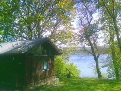 Photo for SLOY CABIN is a charming log Cabin in a stunning loch side location.