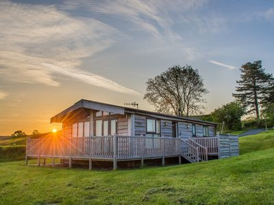 Photo for MOONRISE LODGE - CURLEW LODGE in Priest Weston, Ref 918243
