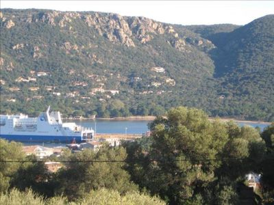 Photo for new apartment with stunning views over the city and the Gulf of Porto Vecchio