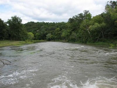 River from Low Water Bridge just upriver from Camp