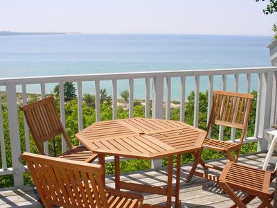 Photo for Clean, Comfortable 2b/2b Condo in Glen Arbor with Lake Michigan View!