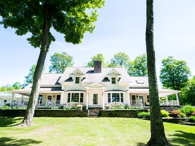 Photo for Beautiful country home with an abundance of outdoor sports activities!