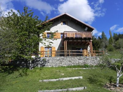 Photo for APPT IN MOUNTAIN CHALET CLASS 2 ** VAL D'ALLOS, COLMARS LES ALPES