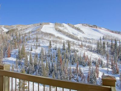 Photo for Ski, Bike, or Hike In and Out - Incredible Views of the Slopes and Valley - Great Amenities and a Fair Price