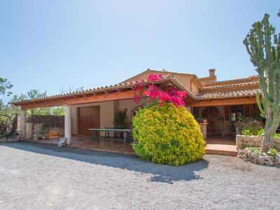 Photo for Villa near the beach pool and very quiet and private terraces