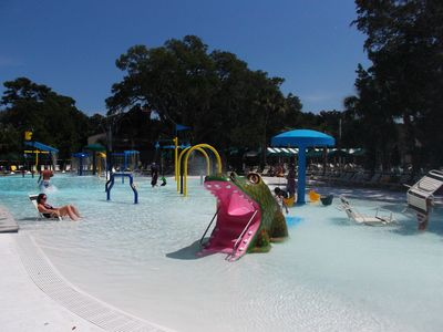 Children's pool at Night Heron Park