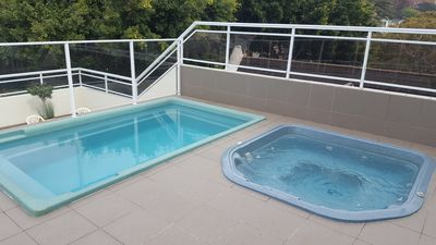 Photo for DELUXE STUDIO APARTMENT LARGE BALCONY WITH BBQ GYM POOL HEATED SPA