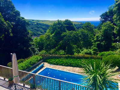 Miraculous Stunning Holiday Home With Pool Terraces Sea View In Salcombe Salcombe Download Free Architecture Designs Viewormadebymaigaardcom