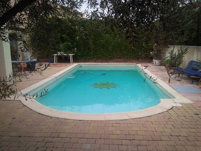 Photo for Quiet villa with large pool