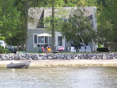 Photo for Waterfront Camp With Private Beach