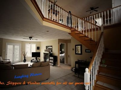 Photo for Laughing Waters - Vacation or B&B - Luxury Accommodations in a magnificent setting!