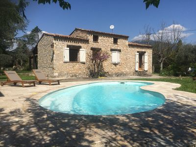 Photo for Provencal house on the French Riviera with swimming pool