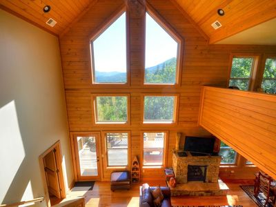 Photo for Firefly - Watershed Cabins - modern luxury, great view, motorcycle friendly