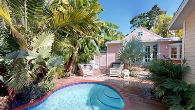 Hearts & Palms House-Quaint 3BD/3Bath Monthly Home Rental - Private Pool