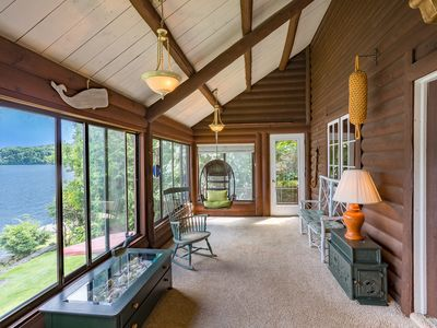 Photo for Lakefront Escape with Gorgeous Views a Short Trip from New York City!