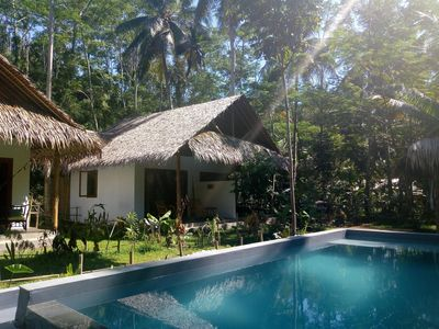 Photo for Double family bungalow at Batukaras