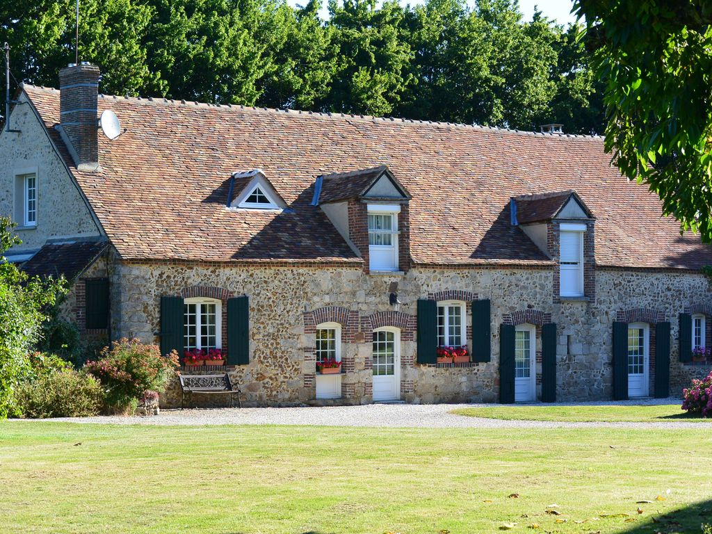 Les epinois beautifully restored 18th century farmhouse heated 614942 - Rideaux maison de campagne ...