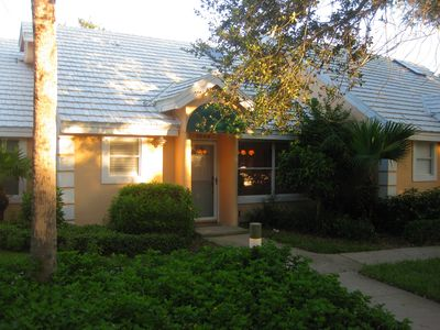 Photo for Walk to Beach from this 1BR condo in beautiful gated community of Coralstone!