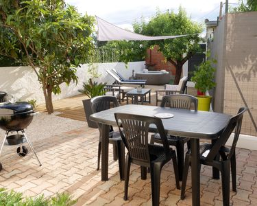 Photo for NEW! Holiday house 4-6 pers, renovated, air-conditioned, garden with spa