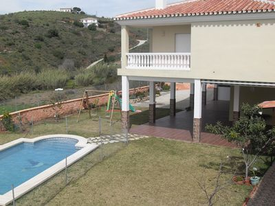 Photo for Magnificent house with garden and private pool with sea views