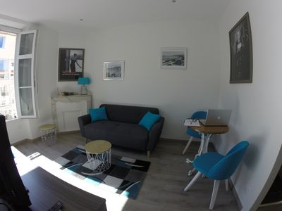 Photo for Ideal apartment classified 2 * - 10 min Palais des Festivals / Croisette / Beaches