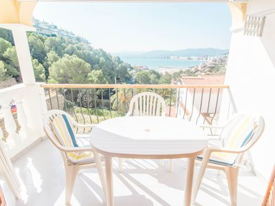 Photo for 3 bedroom apartment in Cap Blanc with sea views
