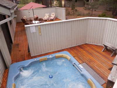 Photo for This home is great for the outdoor family, great deck & lots of bikes to enjoy
