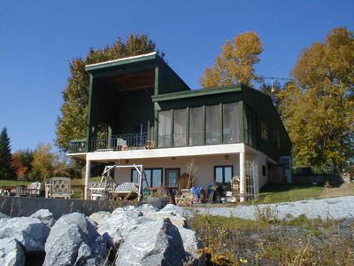 Photo for Vermont Lakeside Rental, Quiet Beauty - Lots Of Activities Available Yr. Round