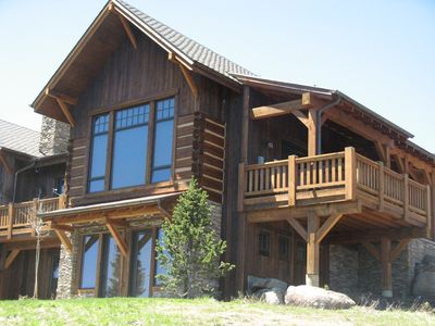 Photo for The Grizzly Den Chalet- True Ski-in/out 4BR/4.5BA Moonlight Club Home On Slopes