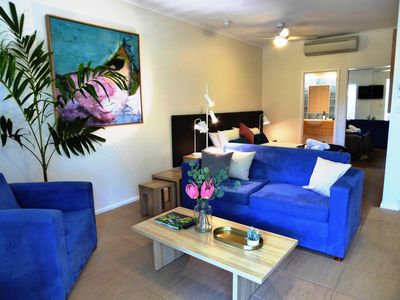 Photo for PERFECT PORTSEA - an ideal quiet romantic getaway.