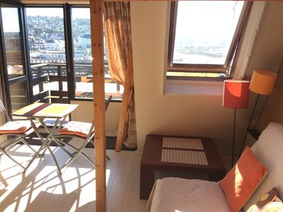 Photo for Deauville - Large studio with panoramic views - 2/4 sleeps
