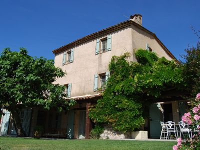 Photo for 200 year-old Provencal dream house with stunning views, near Bargemon