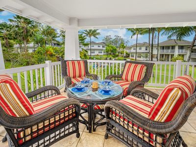 Upgraded Features! - 1221 Plantation at Princeville - Sleeps 6