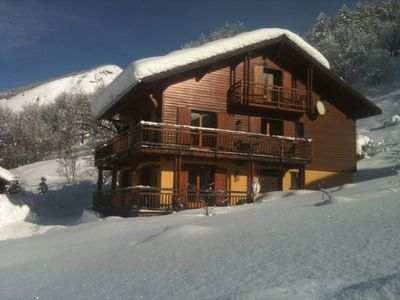 Photo for Apartment in chalet for 6