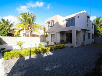 Photo for Discover Mauritius differently: Private villa 125 meters from the beach.