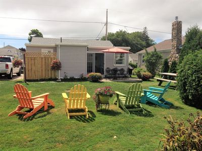 Photo for Quintessential Beach Cottage 3 Blocks from Scarborough State Beach!