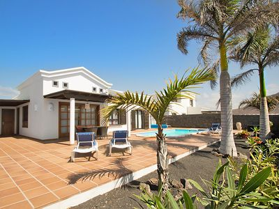 Photo for Luxury Villa With Private Heated Pool, Sea View, Free WIFI, Bicycles,Air Con