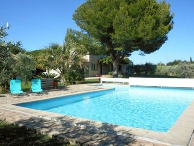 Photo for Les Lavandes 1 Nice house with pool on 4000 m2 estate