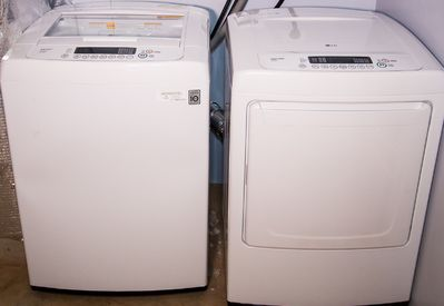 Washer and Dryer for your convenience inside the vacation apartment .