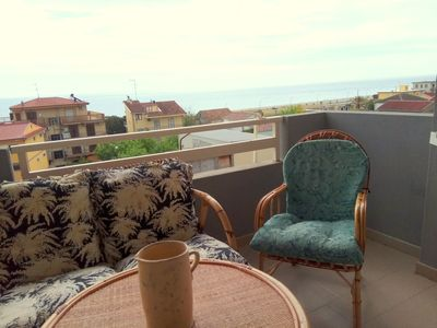 Photo for The Aragosta apartment with sea view
