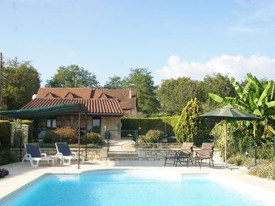 Photo for Beautiful holiday home with fine private swimming pool in the cultural surroundings of Cahors