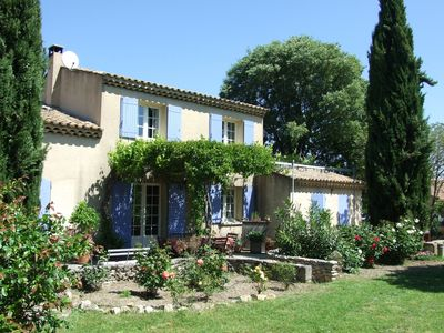 Photo for Provencal charming house in the countryside 800 meters from St Remy