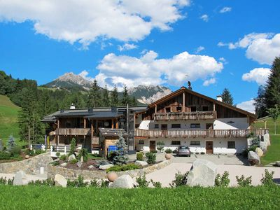 Photo for Apartment Alpine Mountain Chalet  in St. Vigil (BZ), Dolomites - 4 persons, 1 bedroom
