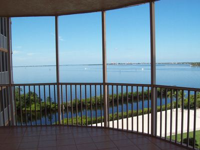Photo for Breathtaking Waterfront Condo Overlooking Caloosahatchee River and Golf Course