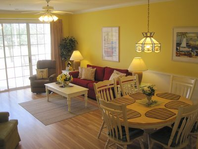 Photo for Beautiful BAREFOOT RESORT 2BR Golf Condo*Ground Floor*New Paint* 50''TV*2 Pools!