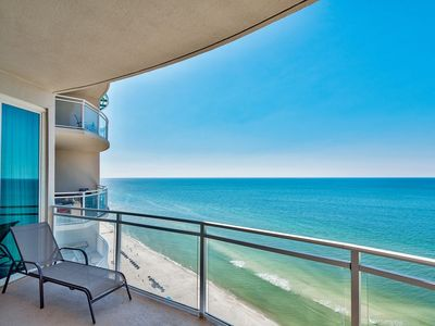 Photo for Gorgeous Gulf-Front Penthouse w/ Epic Views, Pool, Spa & Beach Access