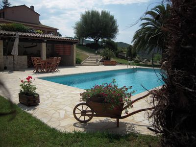 Photo for House 90 m² with pool near sea and mountains